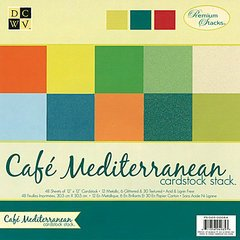 DCWV PS-005-00084 12 by 12 Cafe Solid Stack