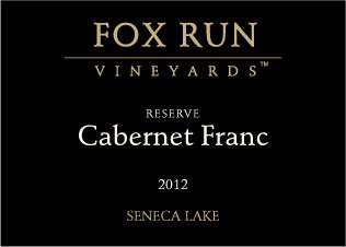 2012 Fox Run Vineyards Seneca Lake Reserve Cabernet Franc 750 Ml