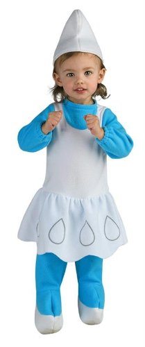 Costumes For All Occasions Ru885532T Smurfette Toddler Costume (Toddler Smurfette Costume)