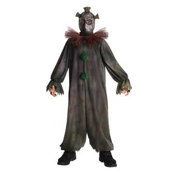 Horrorland Prankster Costume And Mask Costume