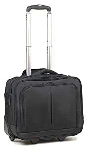 "16"" Laptop Business Wheeled Holdall Hand Luggage Cabin Bag Flight Bag on Wheels ***L44 cm x H38 cm x D20 cm***"