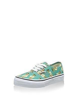 Vans Zapatillas Authentic (Turquesa / Blanco)