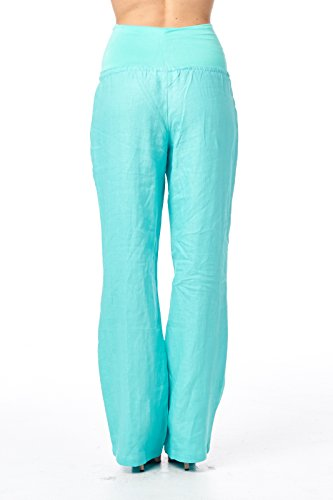 Perfect Cool Women Fashion Stitching Color Folded Harem Pants