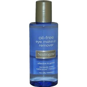 Neutrogena Eye Makeup Remover, Oil-Free, 5.5 oz. (Pack of 3)