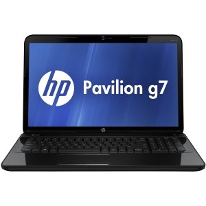 HP Pavilion g7-2200 g7-2223nr B5Z56UA 17.3 LED Notebook - AMD - A-Series A4-4300M 2.5GHz - Sparkl -
