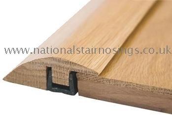 Trim Solid Wood Hardwood Ramp Door Bar Threshold Strip For