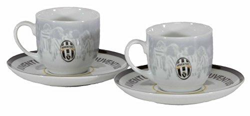 Set 2x tazza espresso Juventus-Collezione ufficiale Juventus Torino