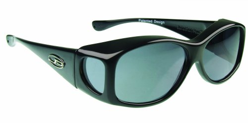 Fitovers Eyewear Small Glides Sunglasses (Midnight Oil, PDX Grey)