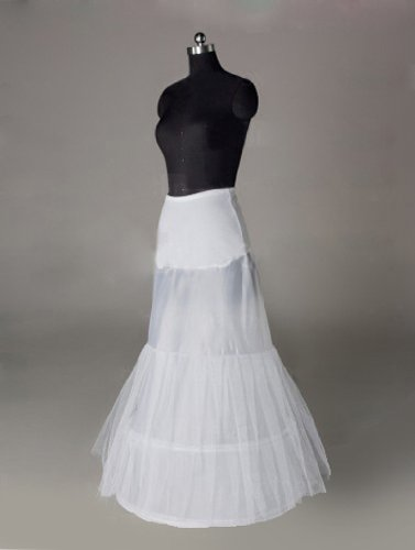 Sunvary Nylon Chapel Train 3 Tier Floor-length Slip Wedding Petticoats