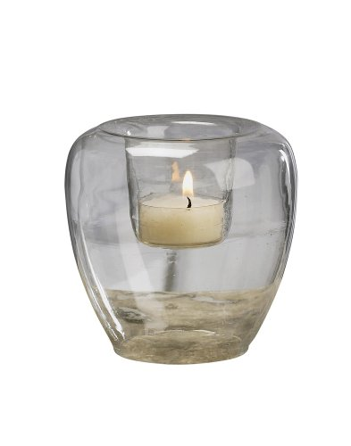 Biedermann Add Your Own Theme Bubble Glass Votive Candle Holders, Set of 4