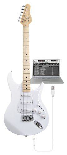 Behringer White USB Guitar IAXE393. Supplied in a retail box