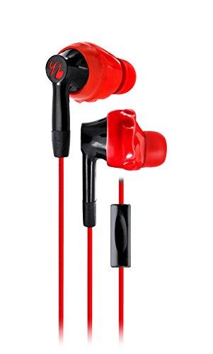 【国内正規品】yurbuds INSPIRE 300 red スポーツイヤホン インスパイア300 マイク付き1ボタンリモコン搭載 レッドブラック YBIMINSP03RNB
