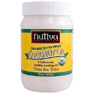 Nutiva - Coconut Oil Organic, 15 oz solid
