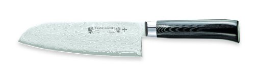 Tamahagane San Kyoto SNK-1114 - 7 inch, 175mm Santoku Knife