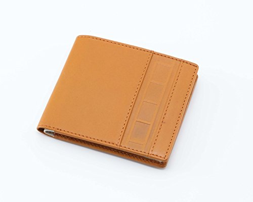 Yamaha vintage strobe embossed leather wallet bi fold for Yamaha leather wallet