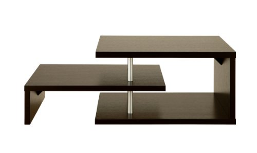 Furniture Of America Level Coffee Table, Espresso