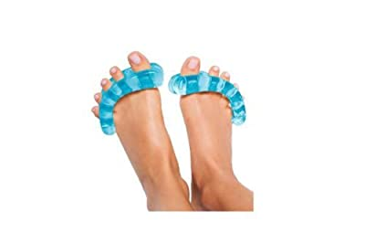 YogaToes -Der natürliche Weg für gesunde Füße-Blau Göße S