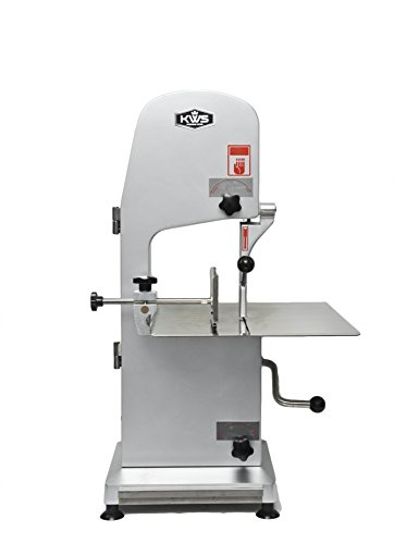 KWS B-210 Commercial 1900W 2.5HP Electric Meat Band Saw Bone Sawing Machine/ Slicer Heavy-Duty (Meat Saw Machine compare prices)