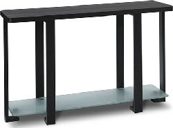 Cheap Avenue Six Terrace Wenge with Black Frame Console Table – Closeout (B0017LVJ9C)