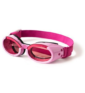 Doggles ILS Small Pink Frame and Pink Lens from Doggles, LLC