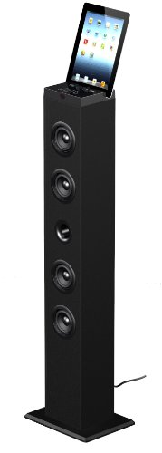 Sylvania Sp288 2.0 Channel Bluetooth Tower Speaker (Black)