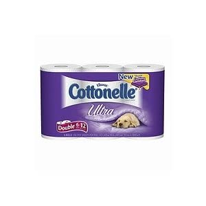 Cottonelle Ultra Bath Tissue, Double Roll 6 pk