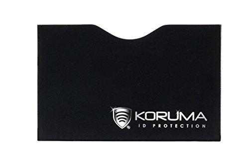 Étui protége des cartes de crédit, débit bloquant les signaux RFID / NFC, protection portefeuille Titulaire