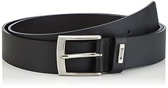 MUSTANG Basic Belt Mustang Loop - Ceinture - Homme - Noir (black 440) - 120 (Taille fabricant: 120)