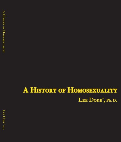 A History of Homosexuality