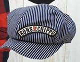 (チップスカンパニー)CHIPPS COMPANY ワッペンキャスケット ワンサイズ ヒッコリー