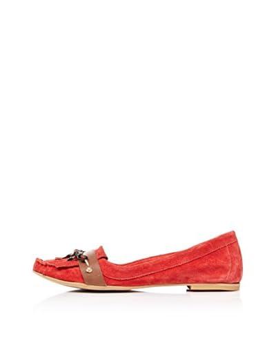 Bueno Shoes Mocasines Abalorios