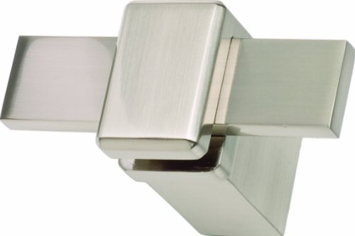 Atlas Homewares BUTH-BRN Buckle Up Collection 3-Inch Hook, Brushed Nickel