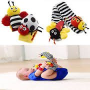 1 X Lamaze Baby Socks Toys Wrist Rattles and Foot Finders Set 4pc New Style by SM that we recomend personally.