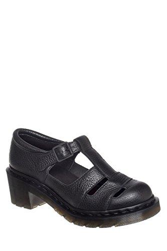 Baby Mid Heel T-Strap Sandal