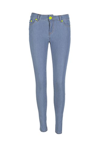 LOVE MOSCHINO JEANS Denis Slim Fit azzurro, WQ386.81.S2646 (30)
