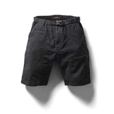 narifuri(ナリフリ) NF793 Mini rip pocketable short pants (XL, BLACK)