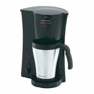 Black and Decker Brew 'N Go Personal Coffee Maker