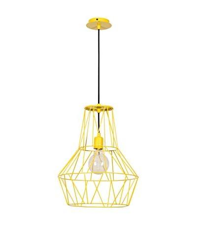 Light&Design Pendelleuchte gelb