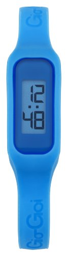 Gio-Goi Unisex 'The Band' Digital Watch GG1001BL With Blue Rubber Strap