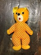 "Mego Vintage Teddy Bear 11"" Plush - 1"