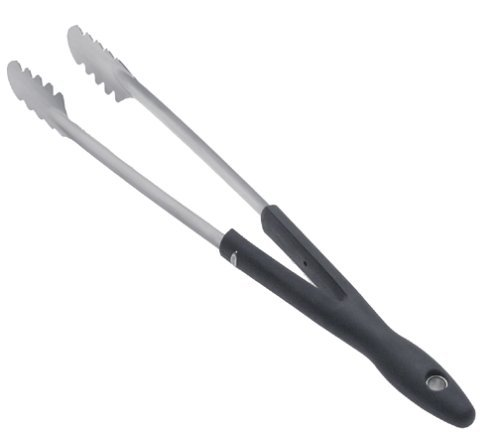 OXO Good Grips Stainless Steel Barbecue Tongs Jardin, Pelouse, Entretien