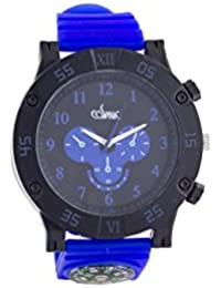 COSMIC ANALOG BLUE SPORTS WATCH FOR MEN