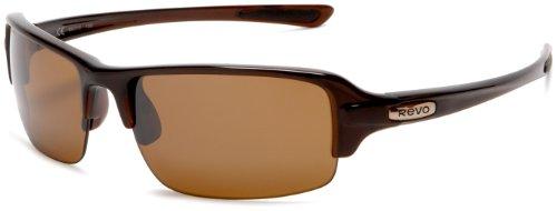 Revo Abyss Rectangular Polarized Sunglasses