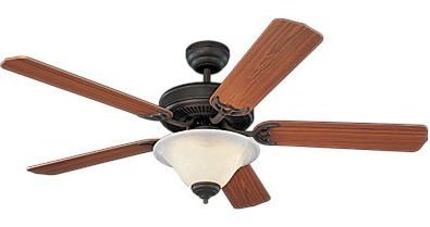 Homeowners Deluxe Ceiling Fan Model 5HS52RBD in Roman Bronze
