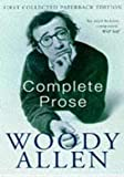 Complete Prose (0330328212) by Allen, Woody