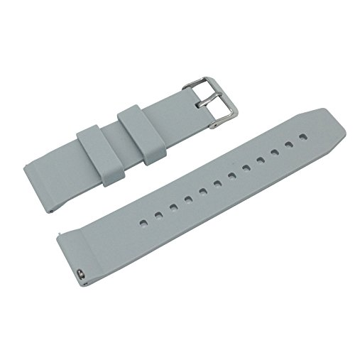 Replacement Watchband Strap for Basis Peak Ultimate Fitness and Sleep Tracker (Gray) (Basis Peak Strap compare prices)