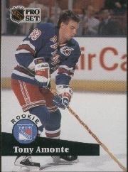 1991-92 ProSet #550 Tony Amonte (RC - Rookie Card) (Hockey Cards)