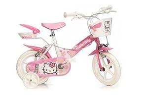 12 Zoll Kinderfahrrad Hello Kitty Kinder Fahrrad by Dino Bikes
