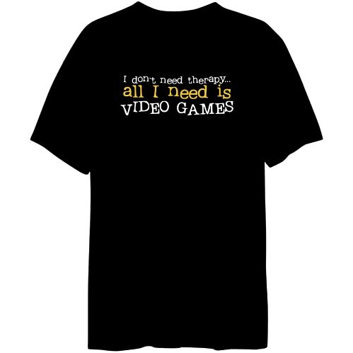 I Don´t Need Theraphy... All I Need Is Video Games Mens T-shirt