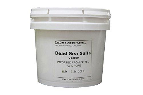 Dead Sea Salt Coarse 55Lbs